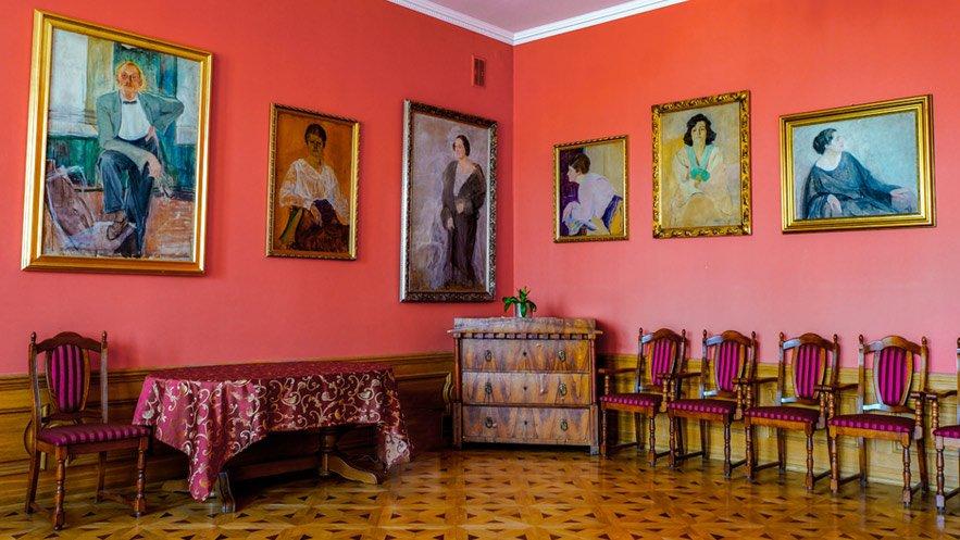 Obrazy Ignacego Pinkasa w Pałacyku Oborskich